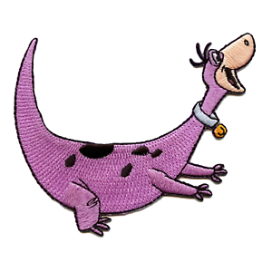Officially-Licensed-The-Flintstones-Dino-Embroidered-Iron-On-Patch