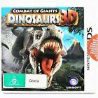 Nintendo 3ds Combat of Giants Dinosaurs 3d Game GC