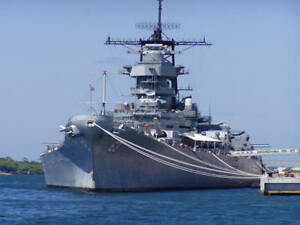 Details about USS Missouri Battleship Museum Pearl Harbor Glossy 8x10 Photo