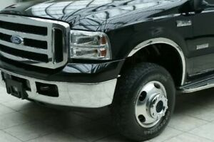 Chrome Stainless Steel Fender Trims FOR 1999-2007 Ford F250 F350 F450 SuperDuty