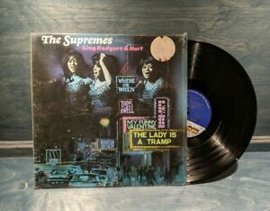 The Supremes - Sing Rodgers & Hart LP VG+ M-659 Motown 1967 Vinyl Record SHRINK