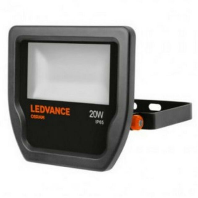 20 W, 1 bombilla , Negro, LED, Blanco, 3000 K Proyectores s Osram 4058075001060 Proyector 20 W Negro