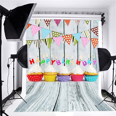 New Light Wood Photo Backdrop Children Birthday Party Decoration Pictorial Customized Studio Background Photoshoot Props xt-7202-8