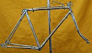 Stan Butler Vintage Bike Frame Med 56cm Lugged Steel 27' 700c l'eroica Charity!