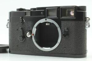 CIA-wuerde-exc5-ist-schwarz-Leica-m3-Double-Stroke-Rangefinder-Film-Camera-Japan