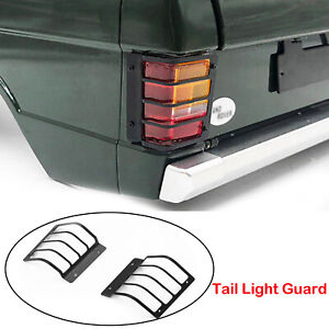 Metal-Tail-Rear-Light-Guard-Cover-for-1-10-RC-Range-Rover-Classic-Body-Car-Model