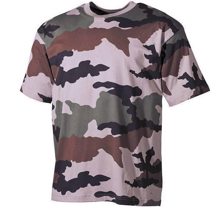 MFH US US US Army t-shirt talla M L XL cinturilla cce Tarn con mayor cuello  rojo ondo df3e44