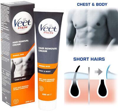 Veet Gel Cream Men Hair Removal For Body Legs No Razor Shaving