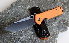 Messer Sanrenmu 710 Exclusive G10 Orange Black Schwarz 8Cr13MoV Framelock 7010OR