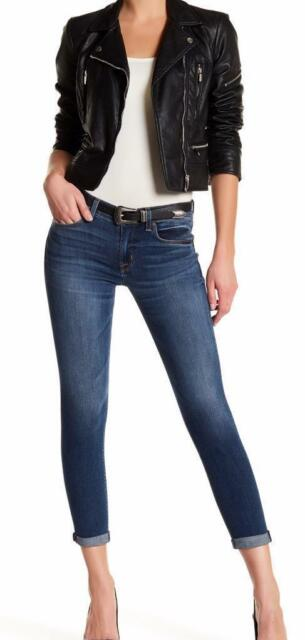 0a205263d97 New with Tag-  189 HUDSON Jeans Harkin Matchmaker Crop Super Skinny Jean  Size 27