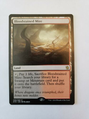 Bloodstained Mire Multiple available Khans of Tarkir MTG M//NM
