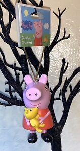 Adler Lot Of 3 Peppa Pig Xmas Tree Ornaments: Tutu Winter 2020 Kurt S Teddy