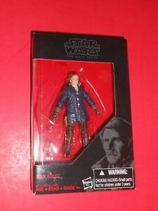 STAR WARS HAN SOLO THE FORCE AWAKENS 3.75 INCH THE BLACK SERIES EXCLUSIVE  630509371723
