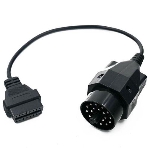 20Pin To 16Pin OBD2 OBDII Diaganostic Cable Adapter For BMW Z3 E34 E36 E39 OLD