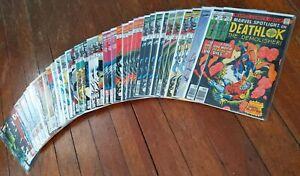HUGE-Deathlok-the-Demolisher-43-ISSUE-LOT-VF-NM-Marvel-1991-Spotlight-33