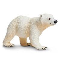 Polar Bear Cub Sea Life Safari Toys Educational Figurines Animals