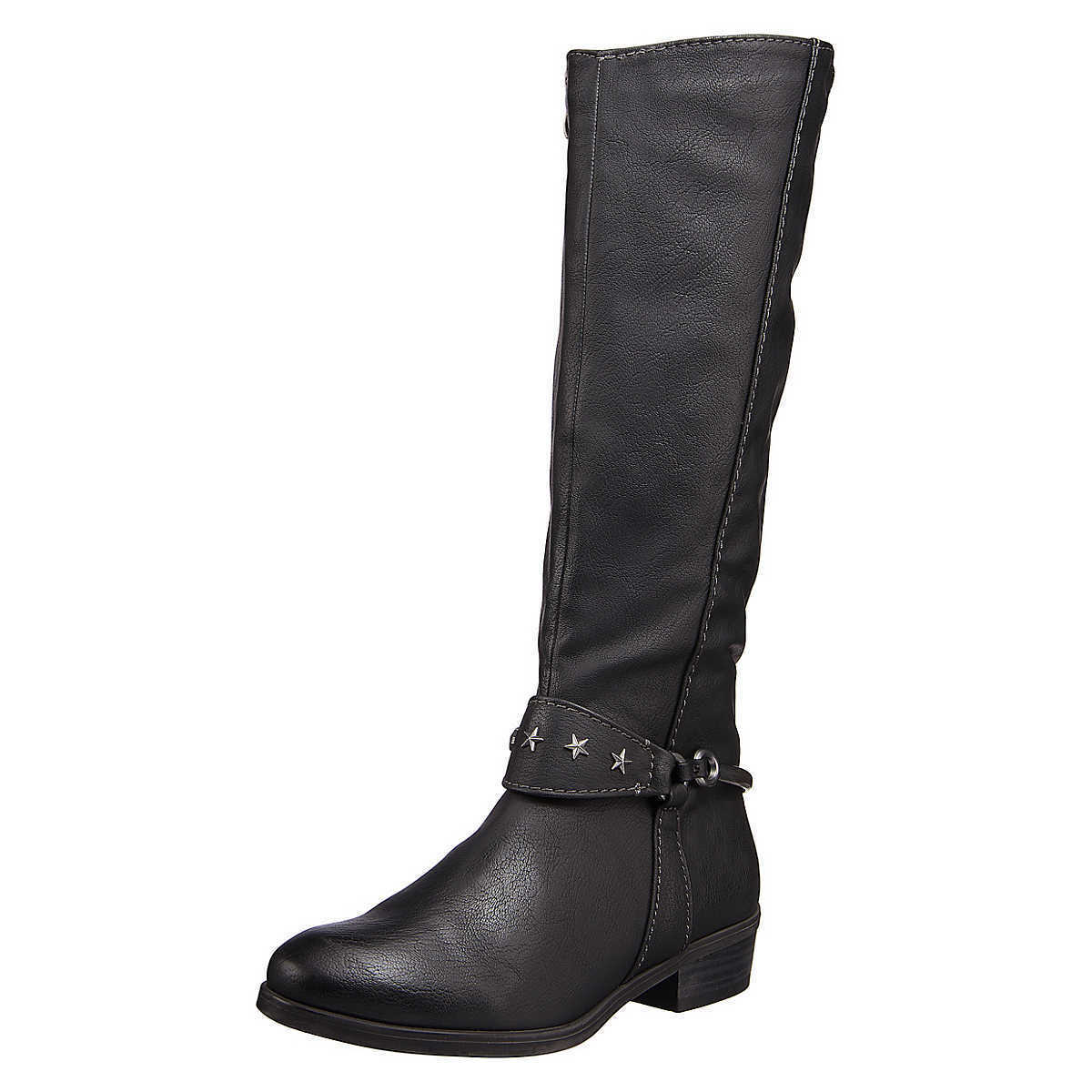 MARCO TOZZI Damen Stiefel Damenschuhe, Boots, schwarz, EU 39