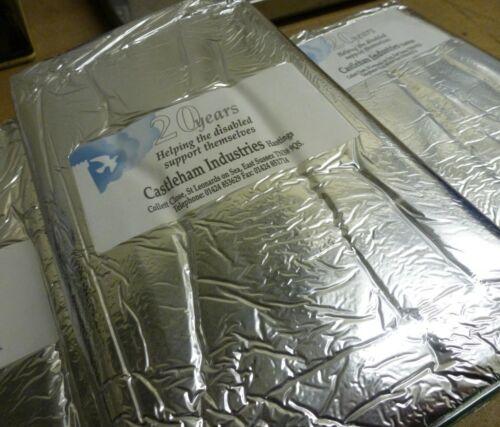 Thermal Survival Blanket//Foil Sheet x 10