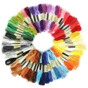 8pcs-set-DMC-Cross-Stitch-Cotton-Embroidery-Thread-Floss-Sewing-Skeins-Craft