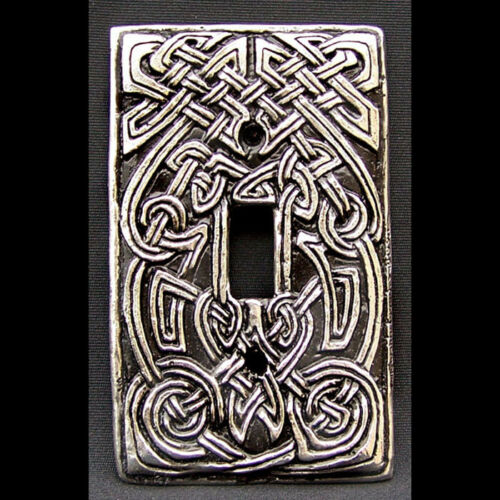Celtic Hearth Pewter Light Switch Plate Single Switch Fellowship Foundry US Made