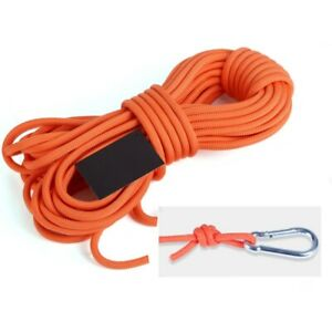 Mountaineering Rock Climbing Rope Outdoor Safety Rescue Auxiliary Cord 10//20//30m