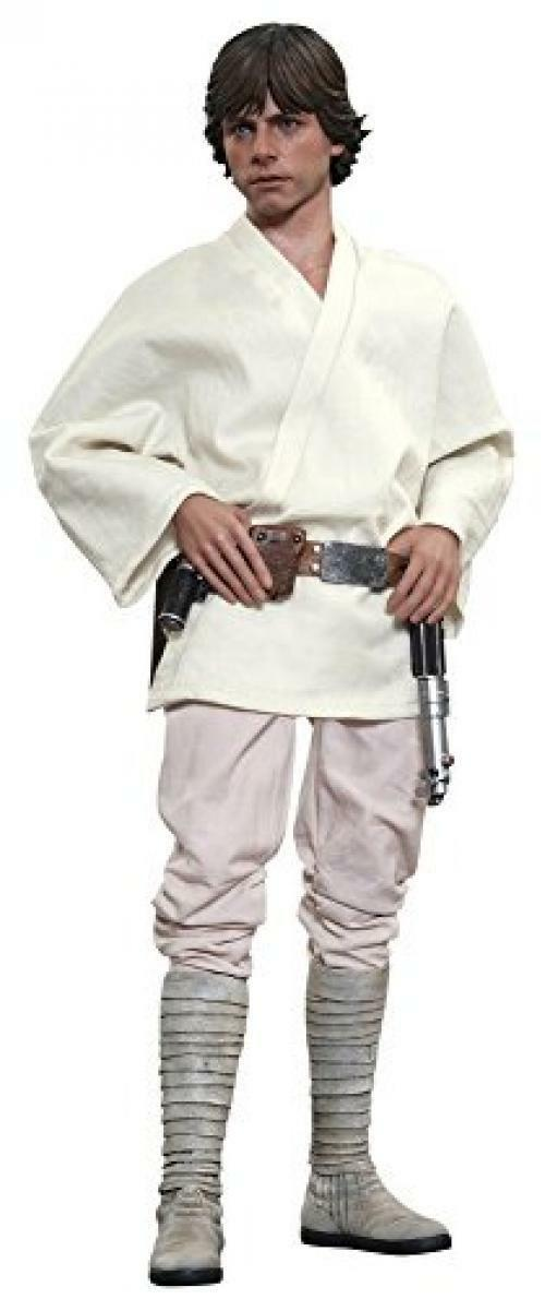NEW Movie Masterpiece STAR WARS Episode 4 LUKE SKYWALKER 1 6 Action Figure EMS