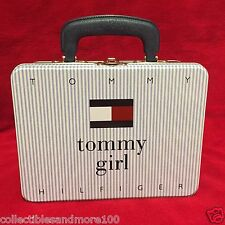 Tommy Hilfiger-Tommy Girl Tin Lunch Box - Macy's -Vintage-Rare-*NEW*