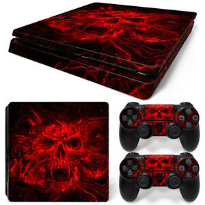 Sony Ps4 Playstation 4 Pro Skin Sticker Screen Protector Set Vampire Skull 2 Video Games & Consoles Faceplates, Decals & Stickers