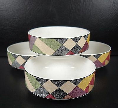 Studio Nova Palm Desert Set of 4 Fruit Bowls Multiple Sets Purple Pink Grey