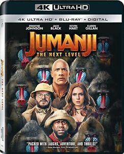 Jumanji: The Next Level [New 4K UHD Blu-ray] With Blu-Ray, 4K Mastering, Digit