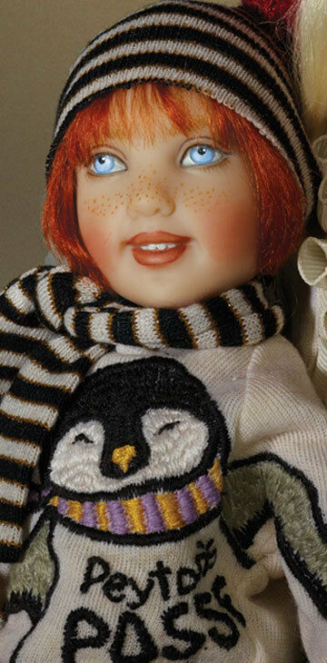 Peyton  Handpainted Doll By Helen Kish  Limited Edition 300