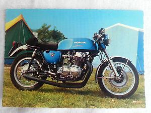 CPA-Carte-postale-Moto-Pilote-Honda-750cc-Four-lot-1