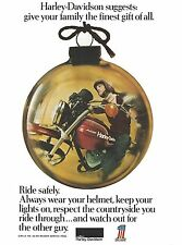 AMF Harley Davidson – a 1974 Vintage Magazine Advert - USA 'Cycle' Magazine