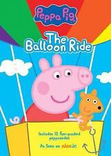 Nick Jr. Peppa Pig: The Balloon Ride DVD   (2014)  ~12 Fun-Packed Peppasodes~