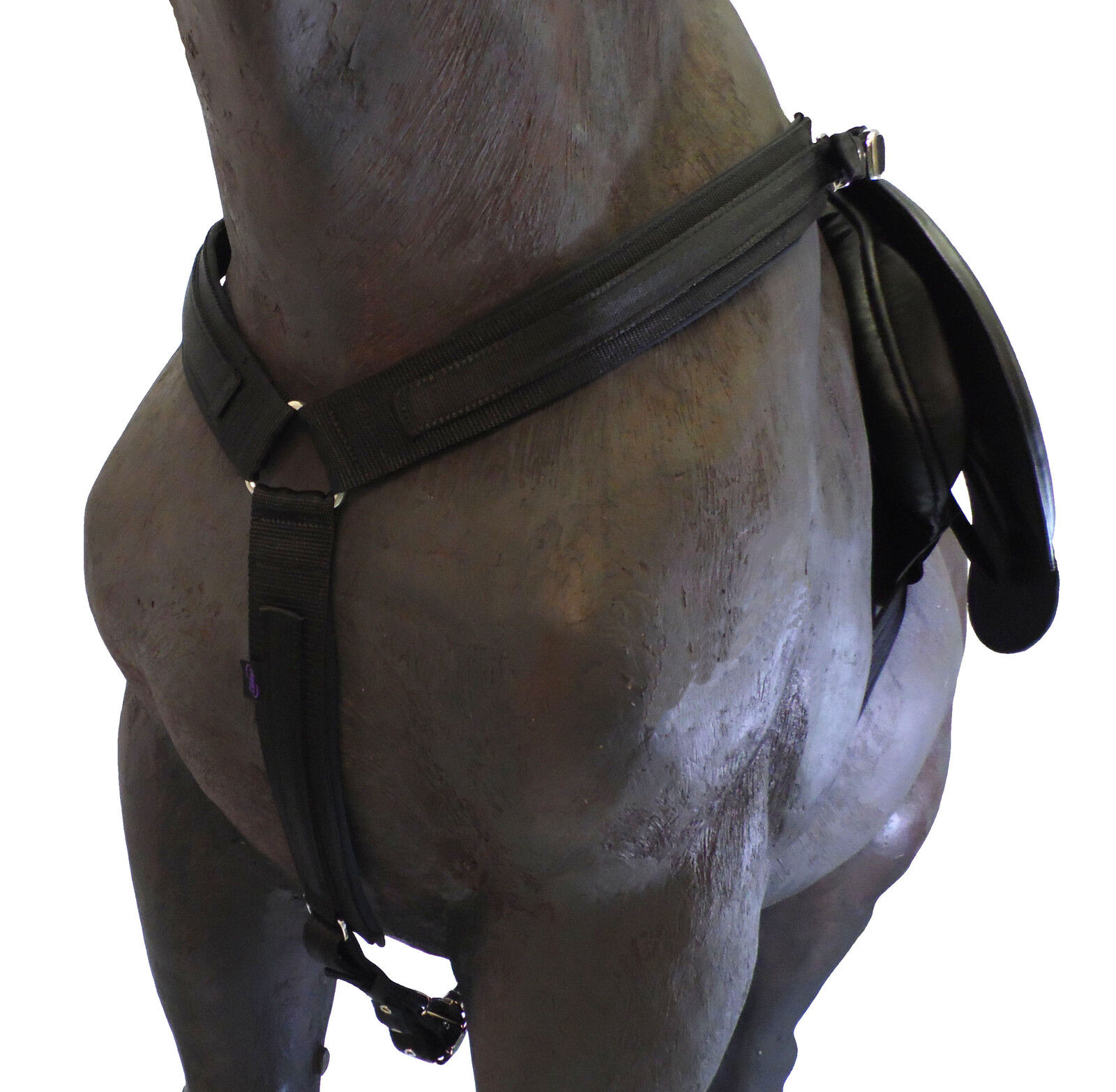 Official Libbys ENDURANCE BREAST GIRTH   PLATE Pony Cob Full