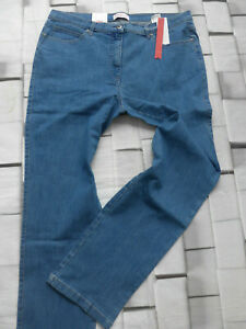 Sheego-Women-039-s-Jeans-Stretch-Trousers-Size-46-to-50-Blue-Denim-797-New