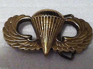 Airborne-Belt-Buckle-Solid-Brass