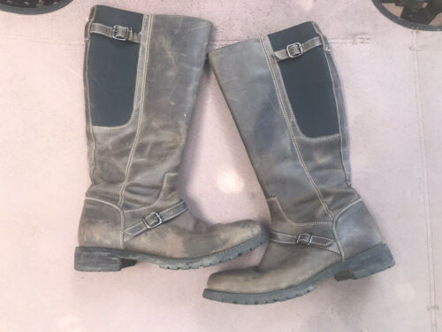 Ariat brown tall leather weatherproof Womens 8 Boo