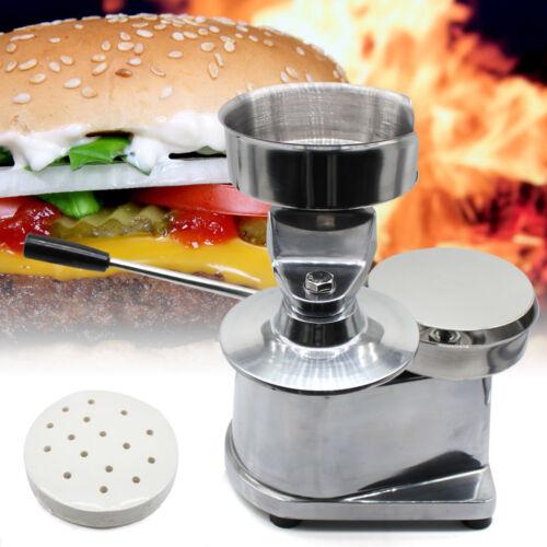 130MM Hamburgerpresse Hamburgermaker Burger Edelstahl Hamburger Maschine NEU DE