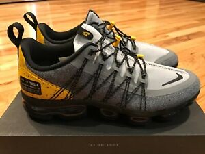 Details about Nike Air Vapormax Run Utility Wolf Grey Black Amarillo AQ8810 010 Men's Size 9.5