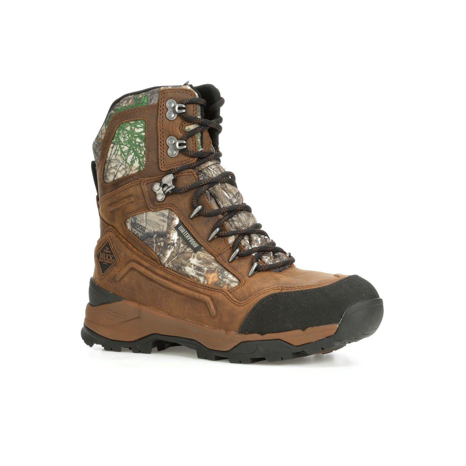 MUCK cumbre Con Cordones botas Para Hombre Al Aire Libre Impermeable 8  MSL-9RT - todos Los Tamaños