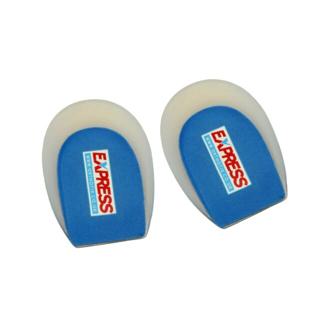 One Pair Hard Plastic Heel Cups for