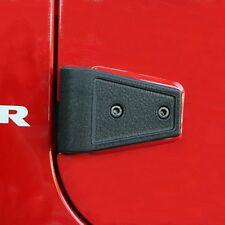 11202.05 Door Hinge Cover Kit, Black, 07-14 Jeep Wrangler Unlimited (JK)