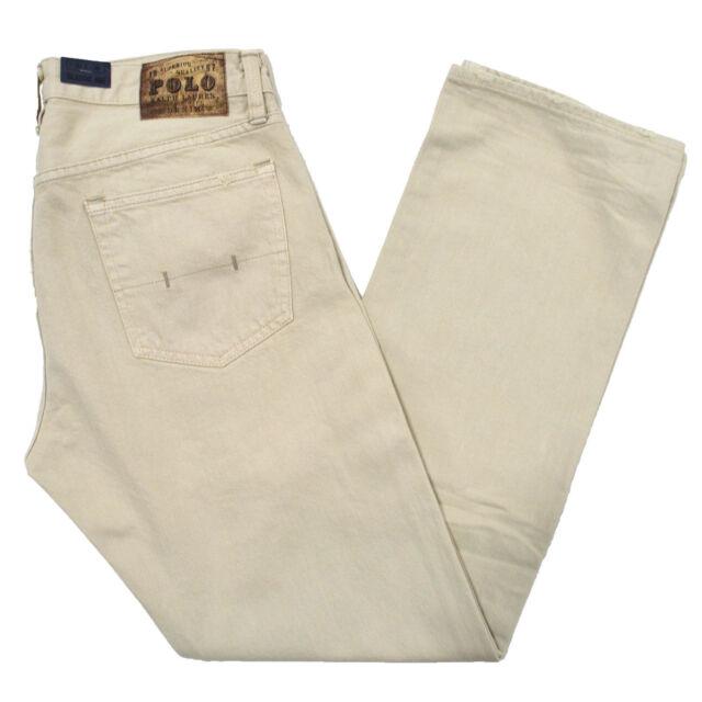 0fc6ca47c Polo Ralph Lauren Bone 867 Jeans Tag Size 34 X 34 for sale online