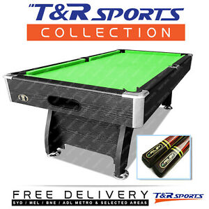 8ft Modern Design Pool Table Snooker Billiard With 2