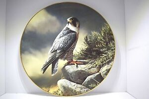 Four-Royal-Doulton-Collectors-Plates-Masters-of-the-Sky-Limited-Edition