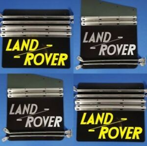 Land-Rover-Series-2-2a-3-Mudflap-set-Fixing-Brackets-stainless-steel