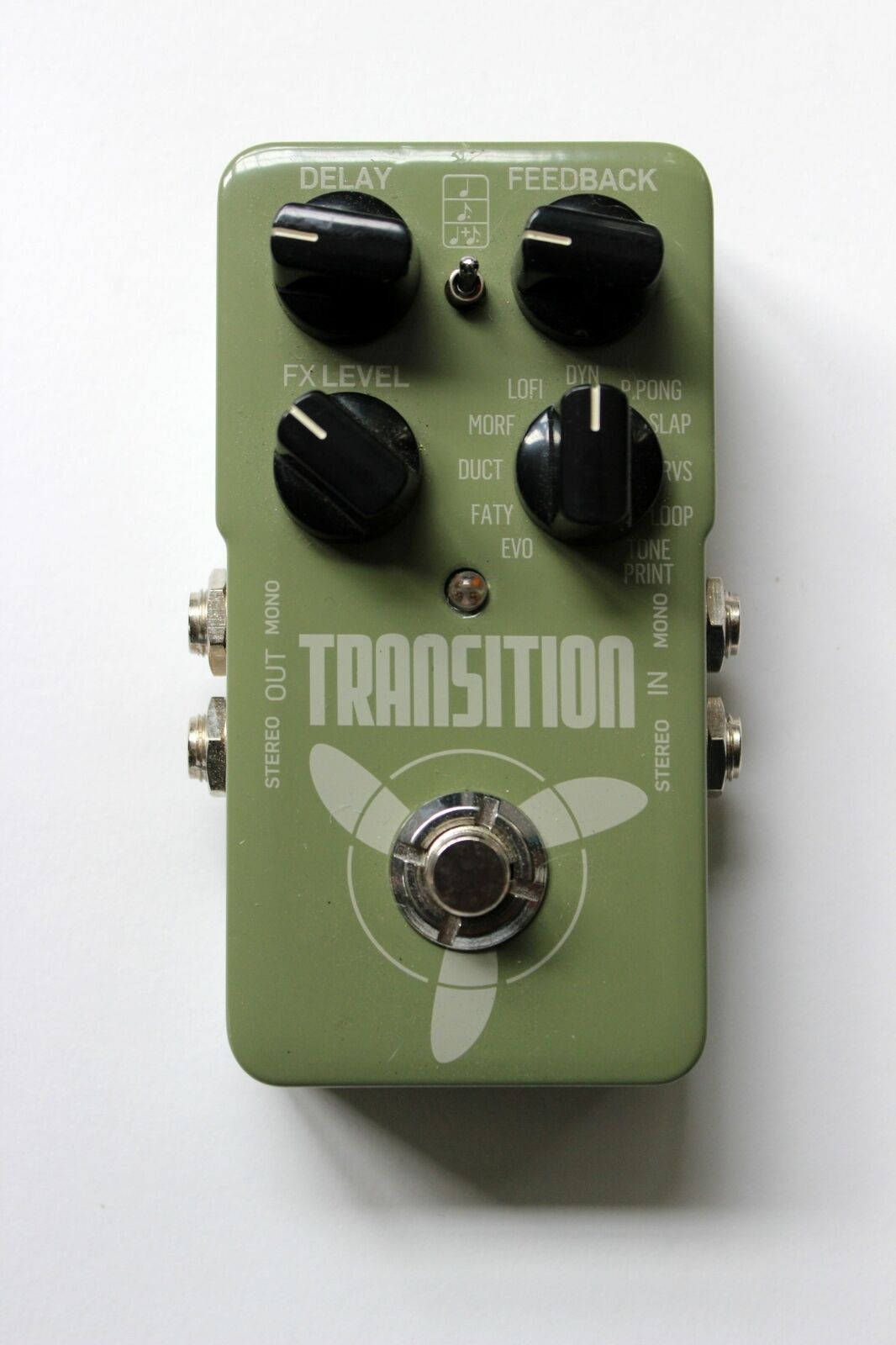 TC Electronics Transition Delay & Looper Pedal RARE