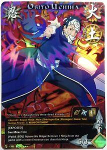Postal-Naruto-Pesonalizado-Collectible-Card-Game-Ccg-Foil-Fancard-58-Juego-30