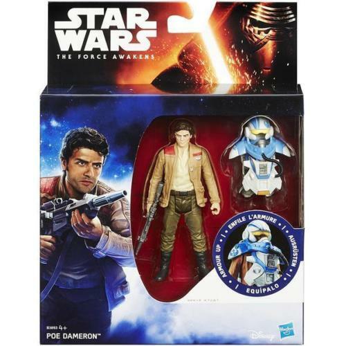 Star Wars PoE Dameron La Force réveiller Armour Action Figure